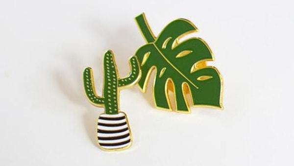 Cactus Flair Pins