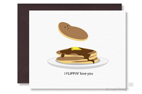 Flippin love you, Valentine's Day cards