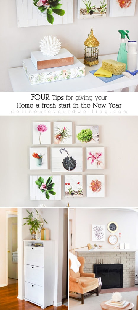 Four EASY tips for a Fresh Home in the New Year, Delineate Your Dwelling