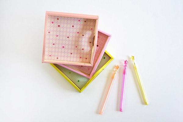 Color Office Trays