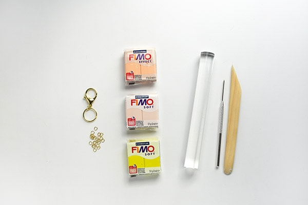 DIY Keychain Supplies