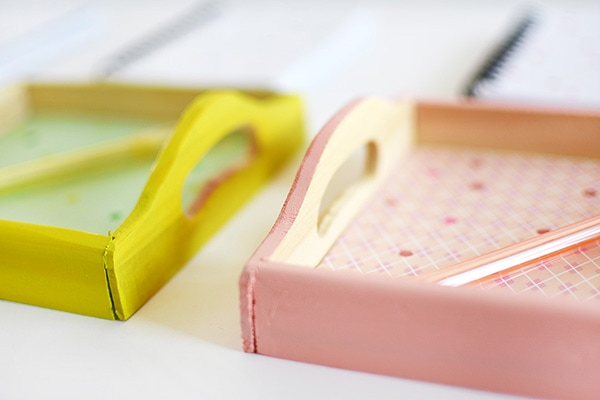 DIY Office Color Trays