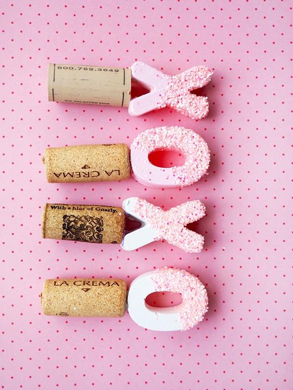 Pink Wine Cork