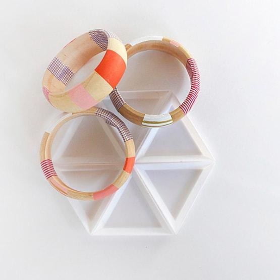 1-DIY-Striped-Washi-Tape-Bangles