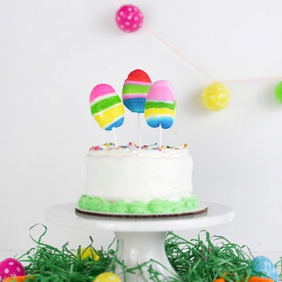 Edible Easter Egg Cake Topper, Delineate Your Dwelling