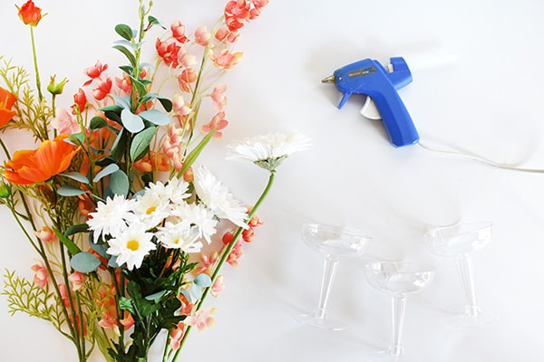 Floral Drinking Glasses supplies