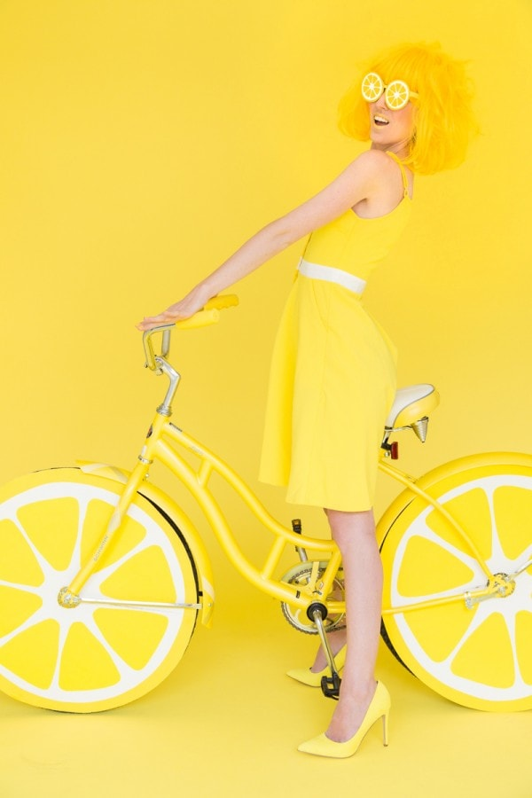 DIY-Lemon-Photobooth-Bike