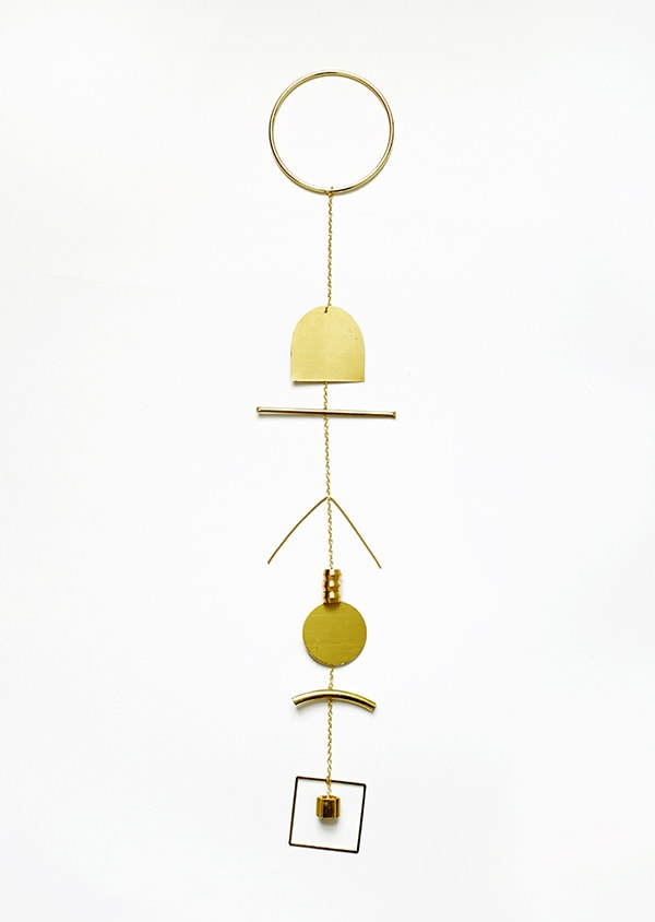 Gold BrassWallHanging3