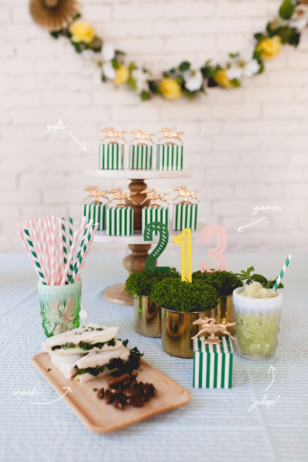 Eight Must Try Kentucky Derby Party ideas, Delineate Your Dwelling