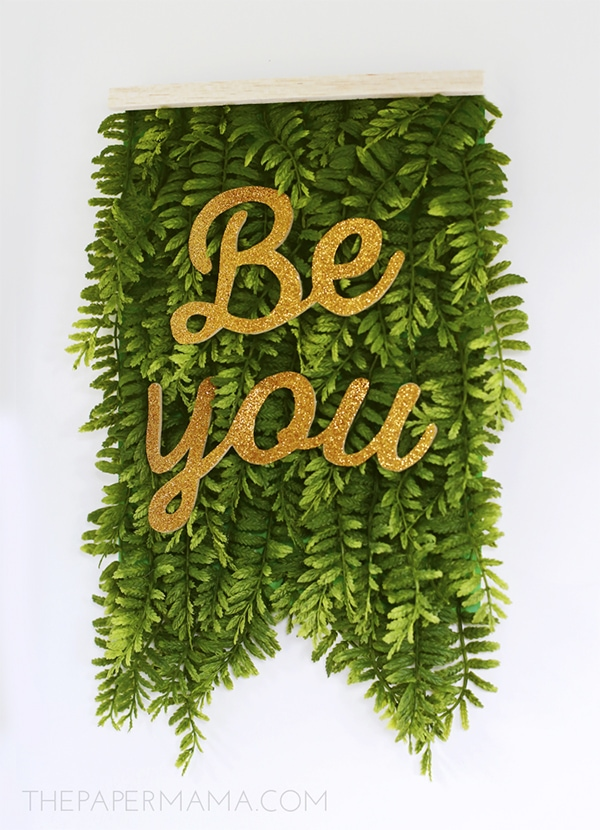 Be You Green Fern Banner