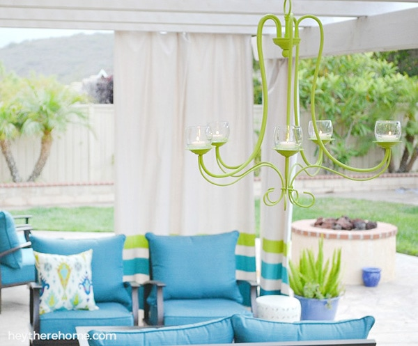DIY-outdoor-chandelier-green