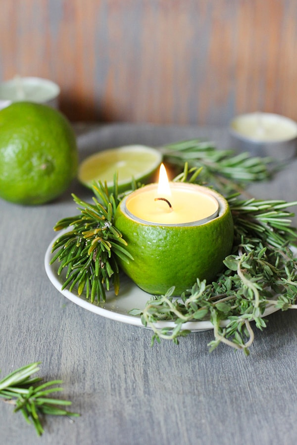 Lime Candles