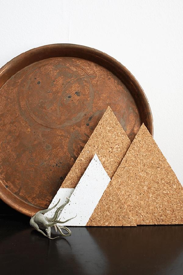 Triangle-Cork-Trivet