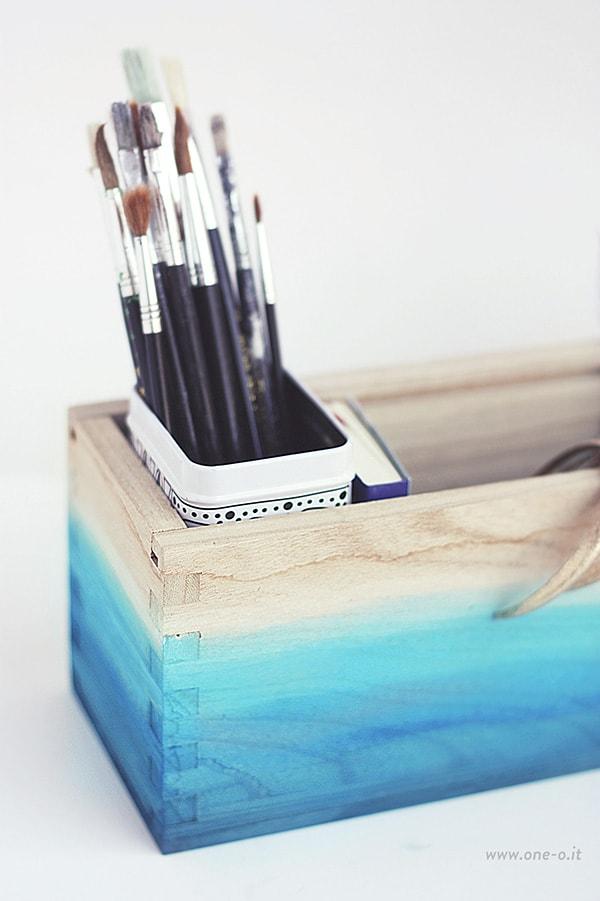 Blue-DIY-Ombre-Watercolor-Box-12