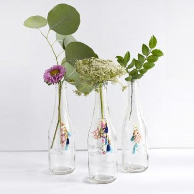 1 Tassel DIY Charm Flower vases