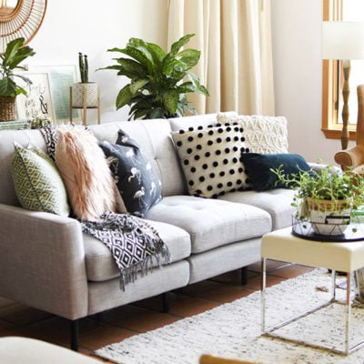 1 Gorgeous Gray Modern Burrow Modular Sofa