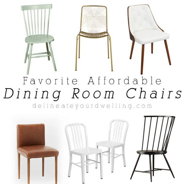Affordable Dining Room Chairs: Favorite Affordable Dining Room Chairs