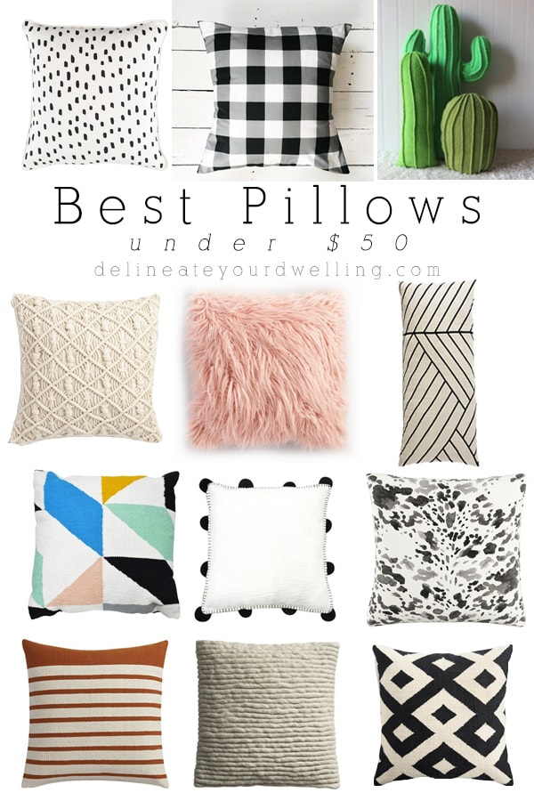 Best Pillows under $50 Delineate Your Dwelling
