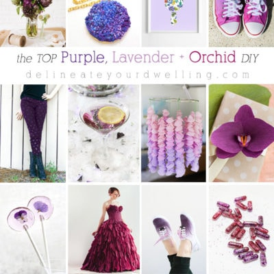 1 Purple, Lavender and Orchid DIY crafts
