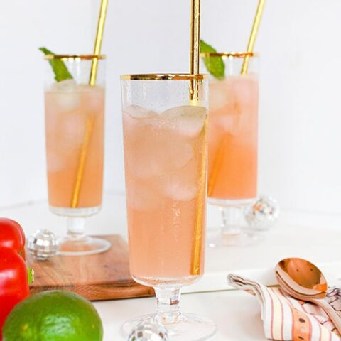How to create the most Delicious Red Bell Pepper Cocktail - perfect for your next party or happy hour, Delineate Your Dwelling