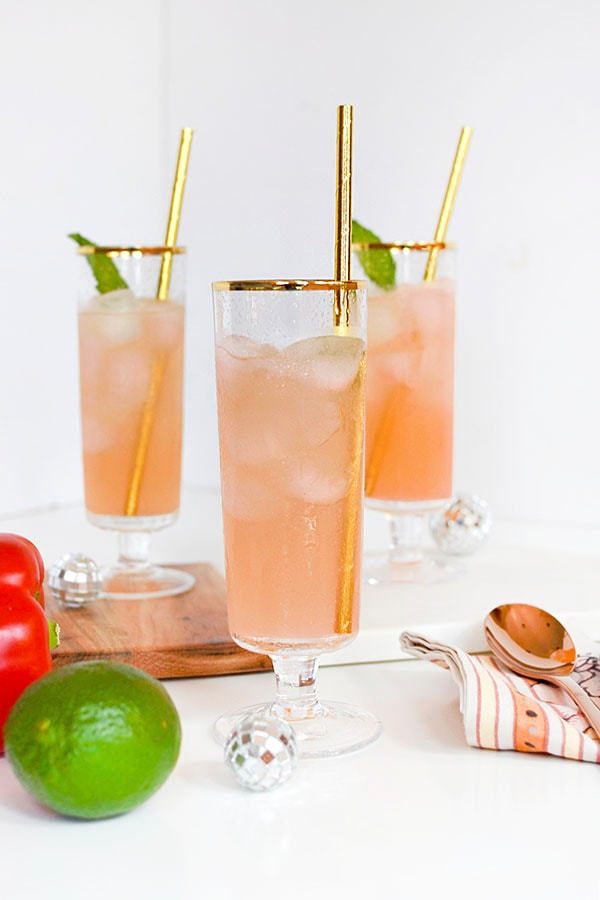 Red Bell Pepper Drink