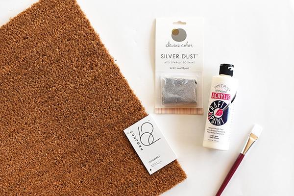 White Dash Doormat supplies