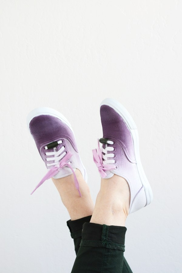 purple ombresneakers8