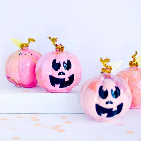 1-DIY-Pink-Marbled-Pumpkins