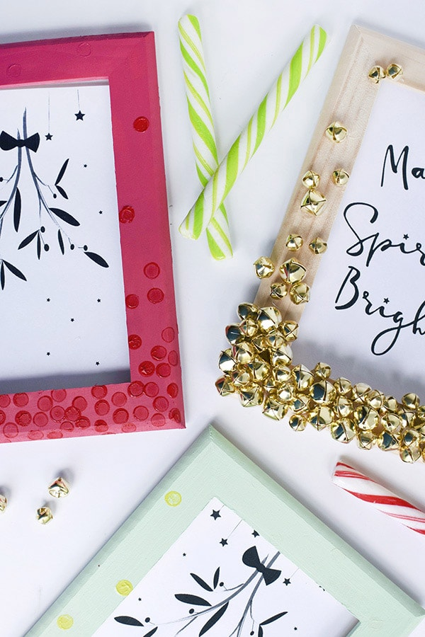 Fun to craft Holiday Jingle Bell Frames, Delineate Your Dwelling