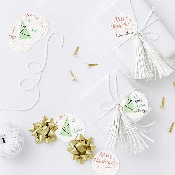 1 Free Holiday Gift Tags