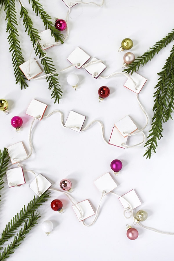DIY Clay Garland, simple and elegant!