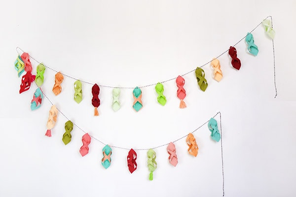 Colorful Felt Garland