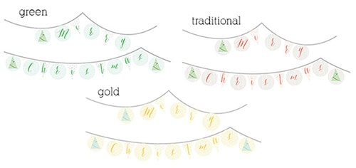 Printable Holiday Banners