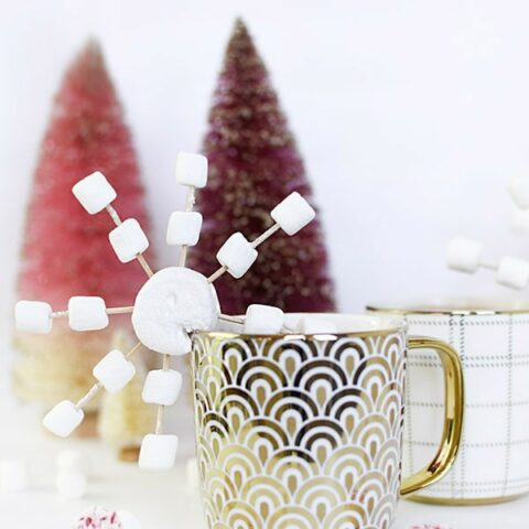Snowflake Hot Chocolate