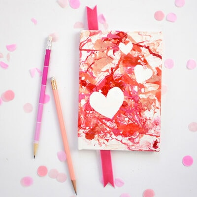 1-DIY-Marbled-Heart-Notebook