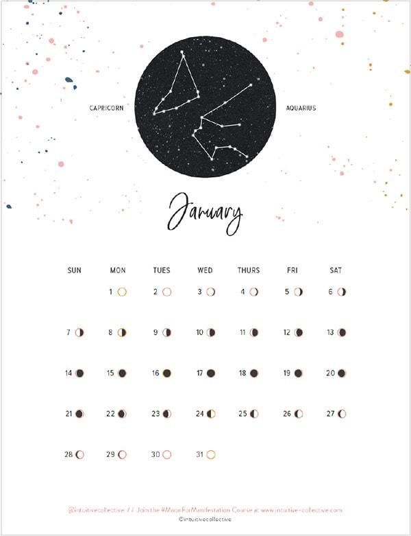 2018 FREE Print Calendars