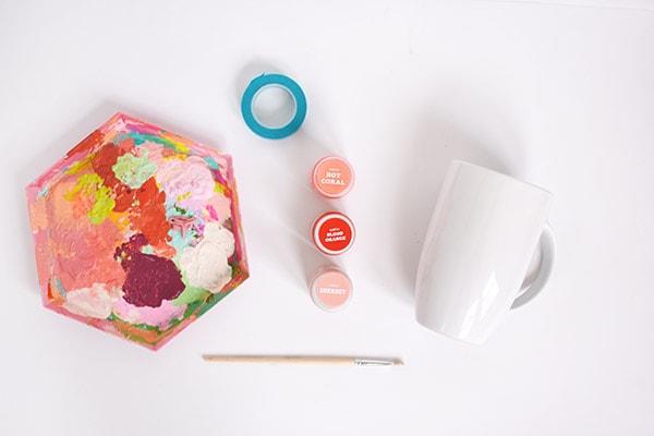 Flower Mug supplies