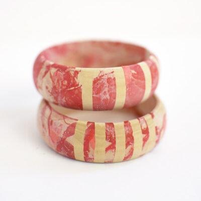 1 DIY Marbled Bracelets