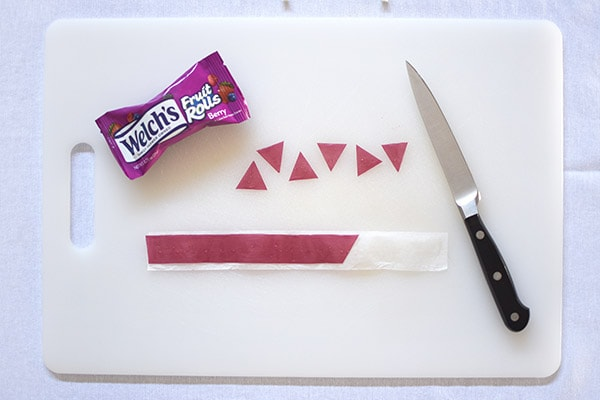 Birthday Cake Decorations Welchs Fruit Rolls Pennant Banner steps