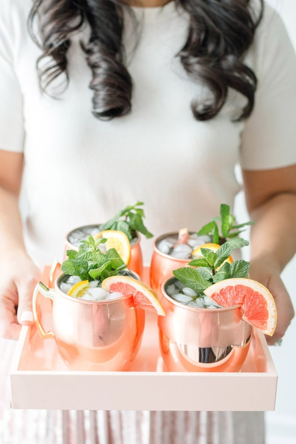 Grapefruit Orange Moscow Mule