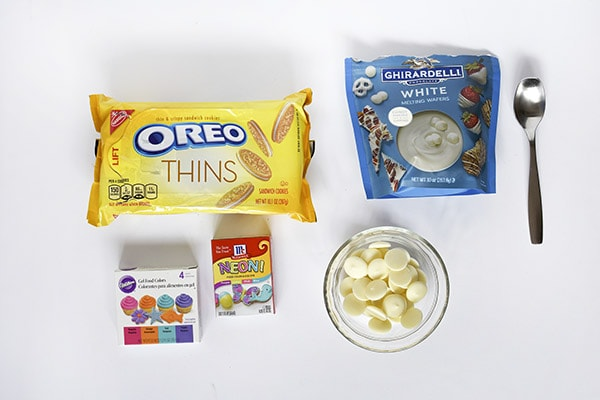 White Chocolate OREO Marbled Cookie supplies