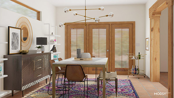 Creating the perfect Dining Room space for your home! Delineate Your Dwelling