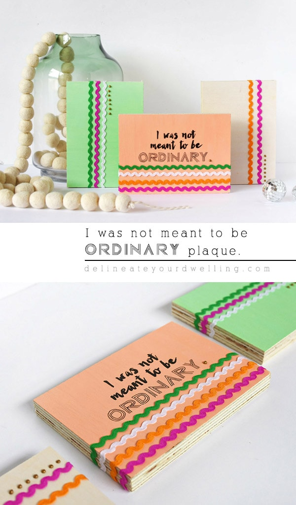 I was not made to be Ordinary