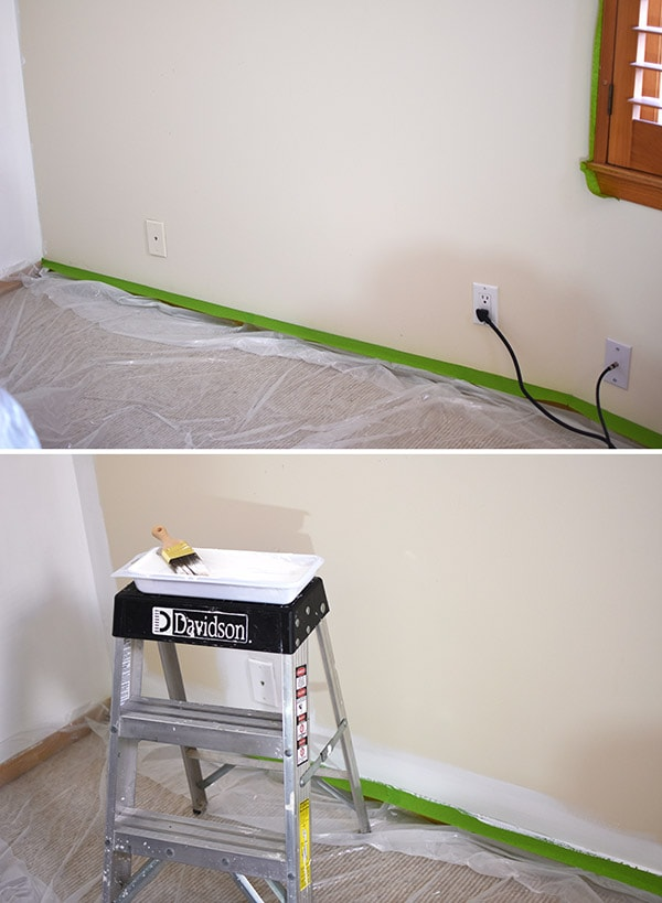 HomeRight Paint Sprayer step 1, Delineate Your Dwelling