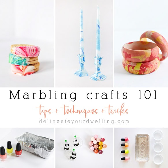 Marbling Crafts 101 Tips