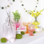 1 Spring Vase Mantel