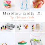 Marbling Crafts 101 : How to Marble, Best Marbling Craft Supplies, Tips, Techniques and Tricks! Delineate Your Dwelling
