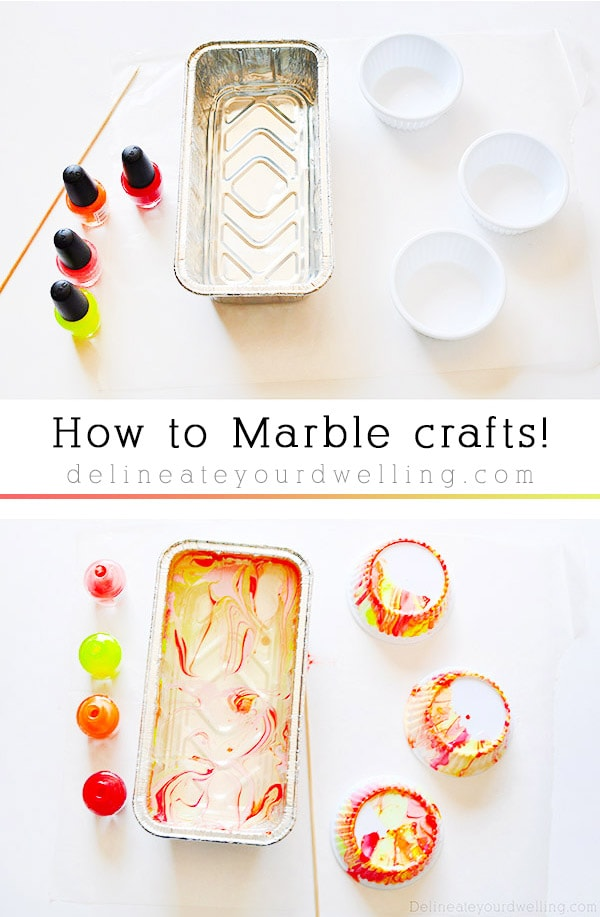 Marbling Crafts 101 steps, Delineate Your Dwelling