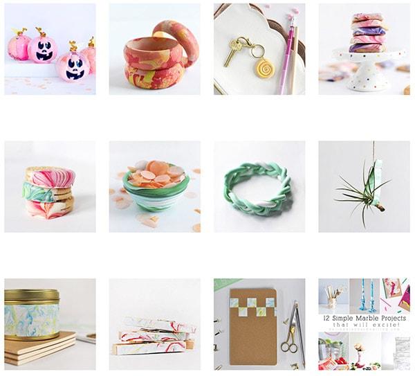 Marbling Crafts 101 types