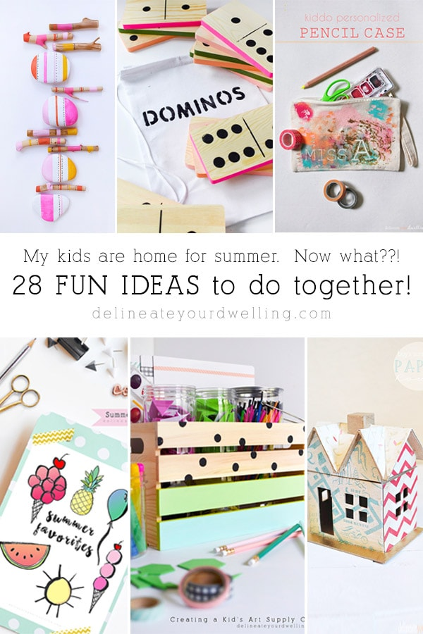 28 Fun and inexpensive Kid Summer Activity Ideas! Delineate Your Dwelling